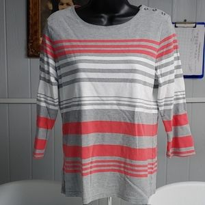 Karen Scott Long Sleeve Shirt